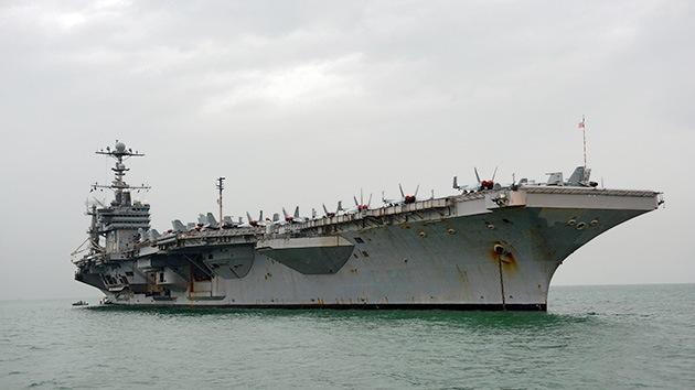 Pyongyang amenaza con destruir una nave portaaviones de EE.UU.