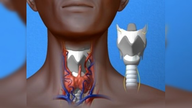 Un trasplante de laringe devuelve la voz a una mujer
