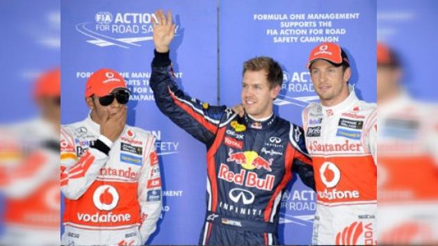 A un punto de su segundo título, Vettel partirá desde la 'pole' en Suzuka