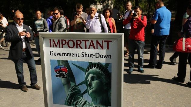 El 'cierre' parcial del Gobierno costará a EE.UU. 300 millones de dólares al día