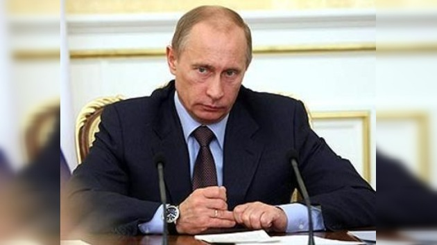 "Vladímir Putin: ""Los terroristas serán aniquilados"""