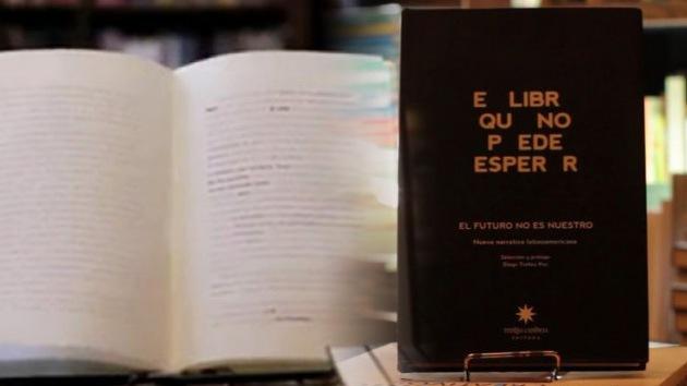 'El libro que no puede esperar': Un libro que 'se queda en blanco'