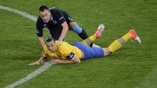 Inglaterra deja a Suecia fuera de la Euro 2012