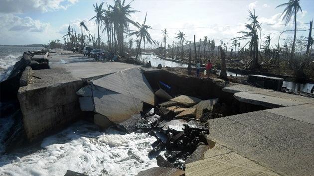 El supertifón Haiyan costará a Filipinas una vigésima parte de su PIB