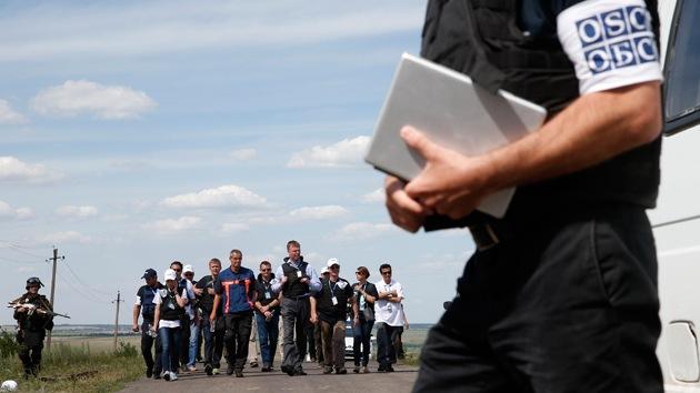 Drones de la OSCE vigilarán la frontera entre Ucrania y Rusia
