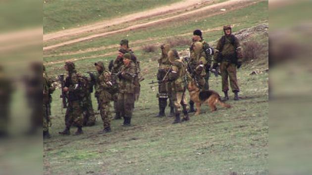 Continúa una redada policial en el Cáucaso del Norte ruso