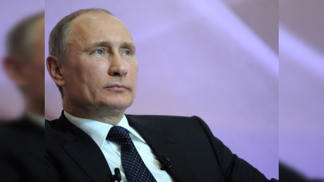 """Vladímir Putin: """"Necesitamos una nueva economía"""""""