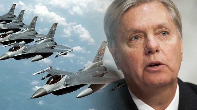 EE.UU.: Senador que proponía atacar a Siria busca recurrir a la fuerza militar contra Irán