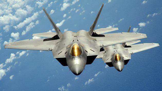 Publican las primeras fotos de los cazas F-22 usados por EE.UU. en los ataques en Siria