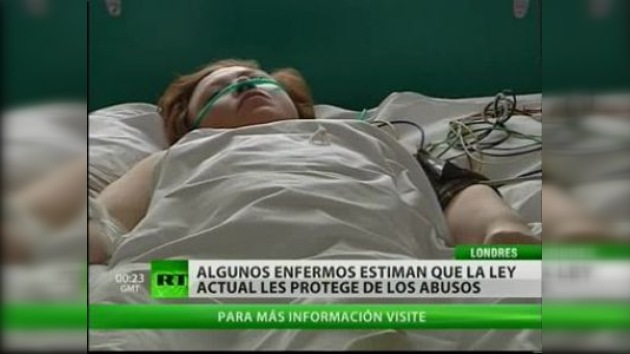 Disputa sobre la eutanasia en el Reino Unido