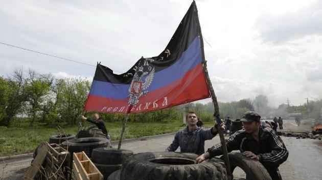 Autodefensas de Donetsk se unen para formar el Ejército Republicano
