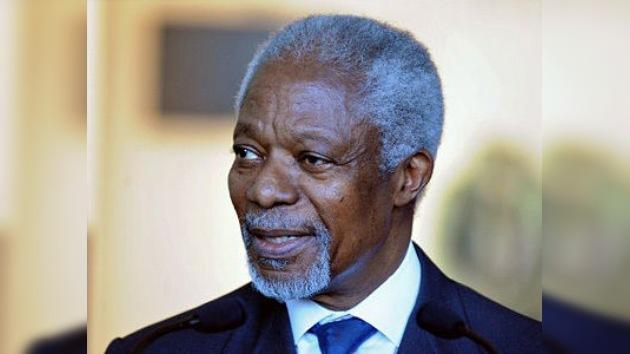 Siria ha aceptado el plan de Annan para terminar la violencia