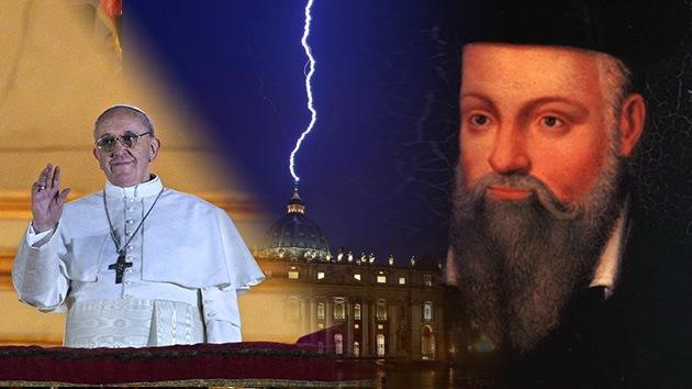 ¿Cumple el nuevo papa con el vaticinio de Nostradamus?