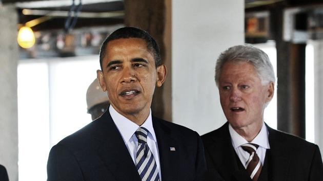 Bill Clinton sobre Obama: 'Hace años habría estado llevando nuestras maletas'