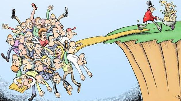 Aumenta la brecha entre el rico norte y el pobre sur de Europa