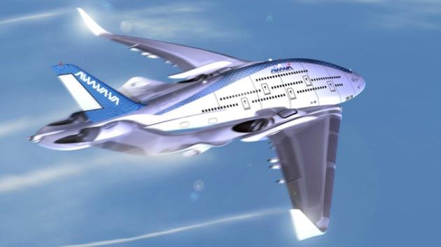 Fotos: El avión gigante que podría ser el futuro de la aviación comercial
