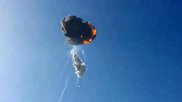 VIDEO: Rival estadounidense del cohete Soyuz explota tras despegue durante un ensayo