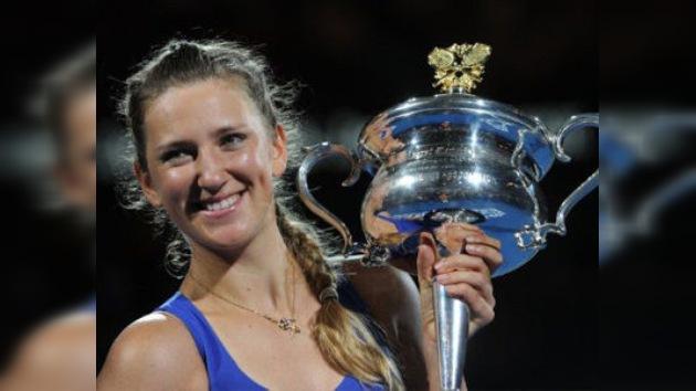 Azarenka, campeona del Abierto de Australia y nueva reina del tenis