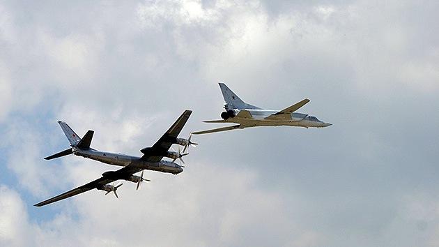 La OTAN envía aviones para interceptar a supuestos bombarderos rusos en Letonia