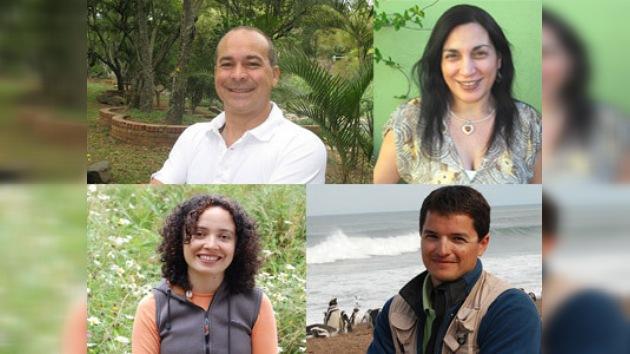 Cuatro ambientalistas latinos en los premios del Fondo Whitley
