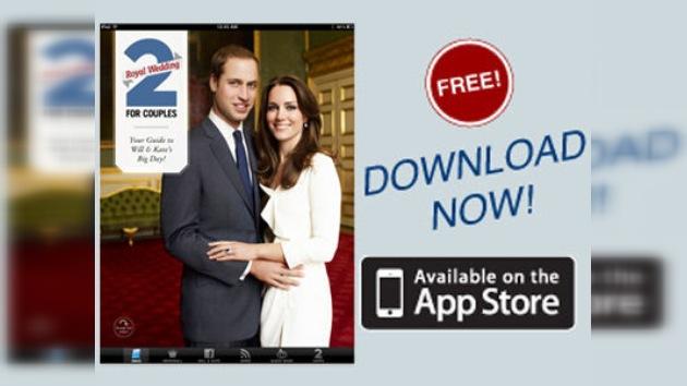 Lanzan nueva aplicación para  iPad sobre la boda real británica