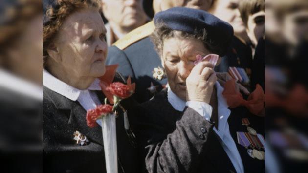 Minuto de silencio en honor a los caídos en la Gran Guerra Patria