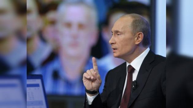 Putin habló a los ciudadanos rusos de los osos blancos y del fin del mundo