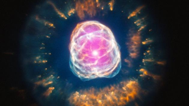 Telescopios de la NASA captan el hermoso final de la 'vida' de una estrella