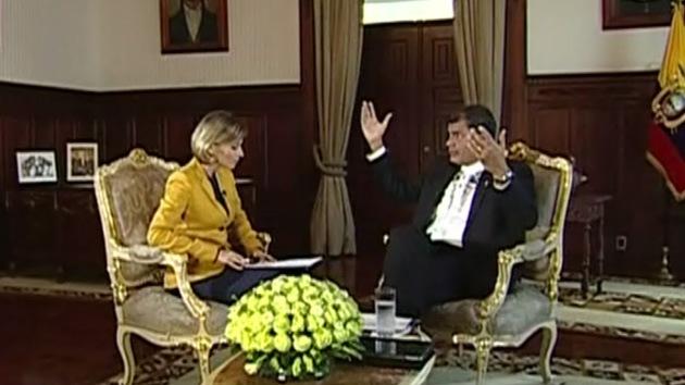 Versión completa de la entrevista exclusiva de RT al presidente de Ecuador, Rafael Correa