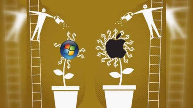 Apple ya cuesta más que Microsoft en Bolsa