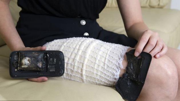 ¿Por qué explotó el teléfono Samsung Galaxy en el bolsillo de una joven suiza?
