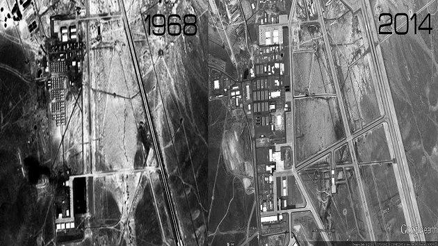 ¿Qué se está moviendo en la misteriosa Área 51 de EE.UU.?
