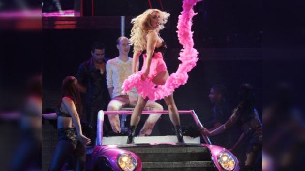 El show 'Femme Fatale' de Britney Spears llega a Rusia