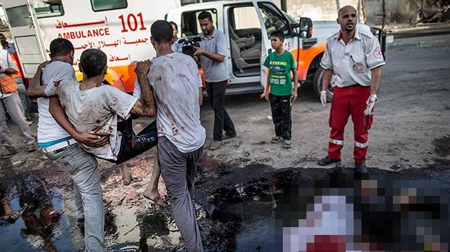 Bombardeos de Israel devuelven a Gaza a la Edad de Piedra