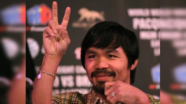 Boxeo: Pacquiao colgará los guantes 'por pedido de Dios'