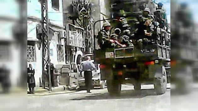 El Ejército de Siria cesará sus operaciones el 12 de abril