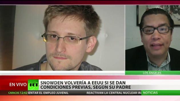 """""""Cualquier país civilizado debería ofrecer protección política a Snowden"""""""