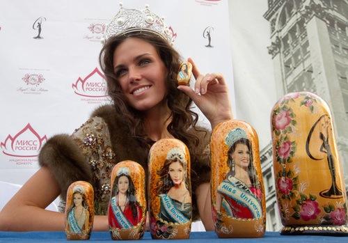 Miss Rusia viajará a Las Vegas para participar en Miss Universo