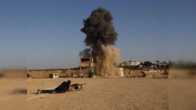 Misil israelí mata a dos civiles palestinos