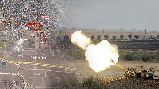 Mapas: La ONU muestra las destrucciones causadas por Israel en Gaza a vista de satélite