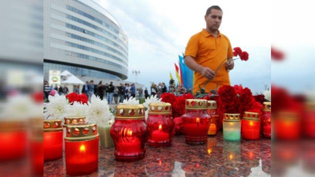 Dolor y luto tras la tragedia del Lokomotiv