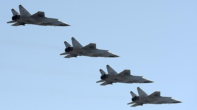Rusia desarrolla un caza-interceptor en sustitución del MiG-31