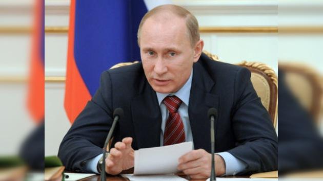 """Putin: """"Cada rublo invertido en el campo social debe generar justicia"""""""