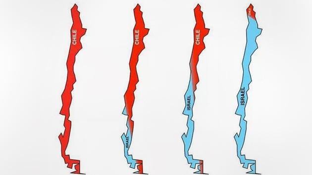 Comunidad palestina de Chile responde a los polémicos mapas de Israel