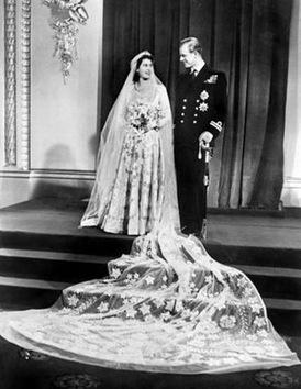 Conozca las fotografías de las bodas reales desde el año 1947 hasta 2011