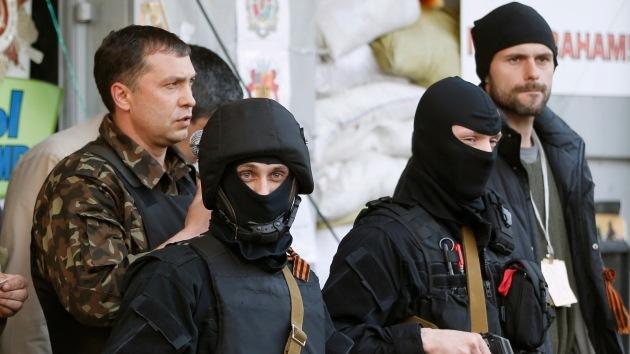 """La región de Lugansk a Kiev: """"Si no cumplen nuestras demandas, pasaremos a la acción"""""""