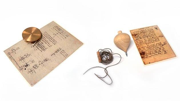 ¿Qué tienen en común Da Vinci y el yo-yo?