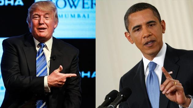 Donald Trump cuestiona la salud mental de Barack Obama