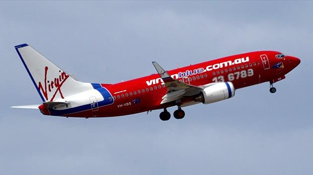 Un avión de pasajeros de Virgin Blue se ve obligado a aterrizar en Bali