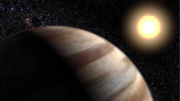 En el espacio sí hay agua: descubren agua en la atmósfera de un 'Júpiter' extrasolar